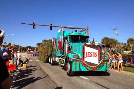 cocoa beach christmas parade